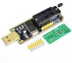 USB программатор CH341A памяти 24/25 серии (EEPROM, SPI FLASH,BIOS)
