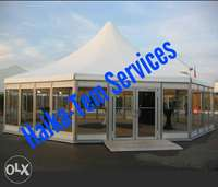 Multi sided marquee party tent and canopy 0