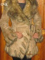 Дубленка женская MONIKA зимняя искусственная
