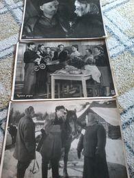 Фотографии фрагментов из старых кинолент