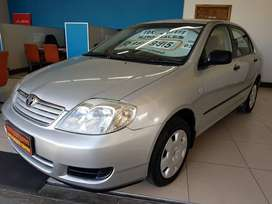 2004 TOYOTA COROLLA 160I GLE NOW SELLING FOR R99995