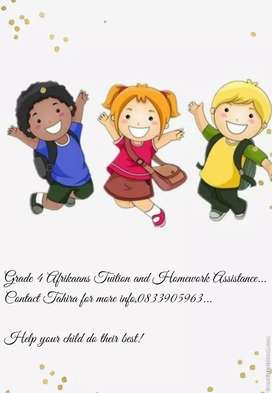 Afrikaans Tuition and Homework Assistance