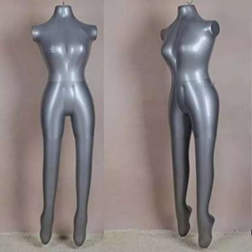 FEMALE AND MALE inflatable Balloon mannequins 0
