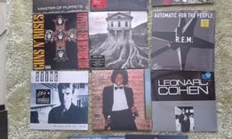 Płyty winylowe (Sting, Jackson, Cohen, Metallica,GnR, Winehouse)