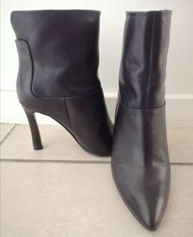 Nine West Ladies Leather Ankle Boots UK5