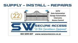 Supply/Install/Repairs - Home/Business/Personal Security