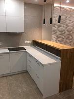 Столешница деревянная на кухню и в ванную . Барная стойка.