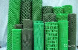 Заборы Сетки Пластиковые, Сетка вольерная для птиц. *AGRO-TRANS