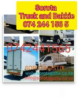 Transport services truck and bakkie