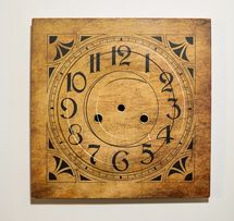 Циферблат Gustav Backer (самоклейка) настенные часы