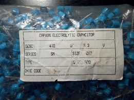 Конденсаторы электролитические CapXon 470мф 6,3В 500 штук