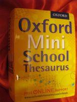 СЛОВАРЬ книга английский язык Oxford mini SCHOOL Dictionary Thesaurus