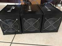 Image of Black Widow & Fury Altcoin Scrypt Miners 13MH/s & 1.5Mh/s power supply