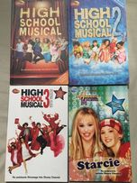 Książki high school musical i hannah Montana