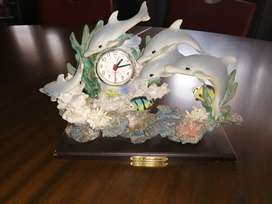 Quartz watch surrounded by dolfins and see life vintage bought