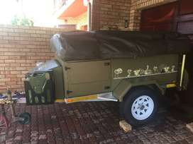 """Bushy Trailer 14"""" - Immaculate Condition"""