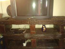 TV and 8 Piece Solid sleeper wood TV Cabinet for Sale