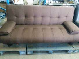 Brown Sleeper Couch