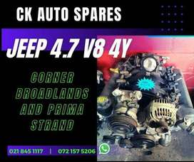 Jeep Grand Cherokee 4.7 V8 engine for sale