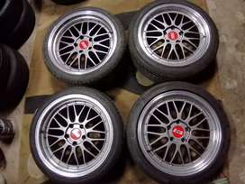 18inch BBS rims and tyres
