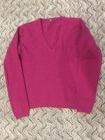 Розовый свитер Benetton