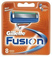Лезвия оригинал Gillette Fusion 8 картриджей в упаковке