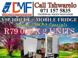 Mobile Fridge For Sale. Combo Specials