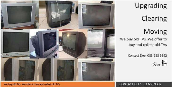 We BUY and COLLECT old TVs . CASH PAID 0