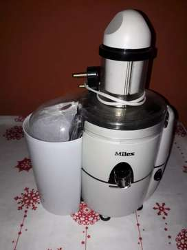 Milex fruit juicer.