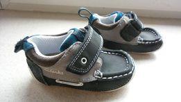 CLARKS - Cruiser Deck 18 1/2 niemowlak jak NOWE do nauki chodzenia