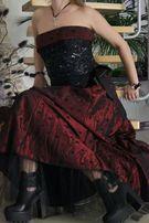 Нарядное платье корсет