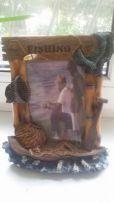 Объемная Рамка для фото вашего рыбака
