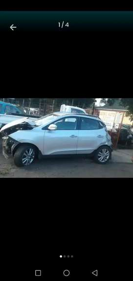 Hyundai Ix35 now stripping for parts