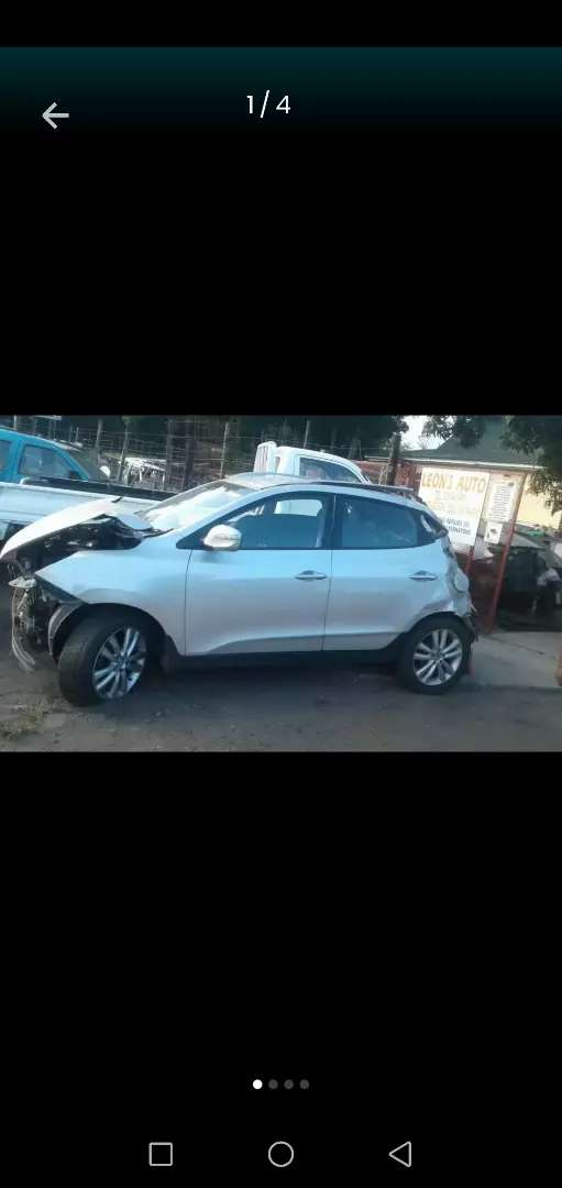 Hyundai Ix35 now stripping for parts 0