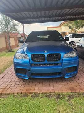 Bmw x6m 5.0i engine faulty sold as is