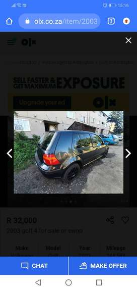 Golf 4 stripping or whole car for sale