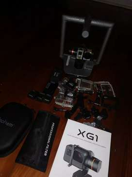 Gopro Gimbal rig with accessories