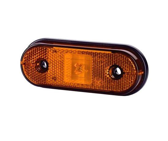 Lampa obrysowa LED ledowa obrysówka pomarańczowa bus przyczepka Częstochowa - image 1