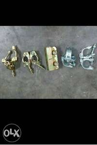 Scaffolding clamps or connectors 0