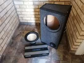 Sound set for sale (Sub,Amp and Box)