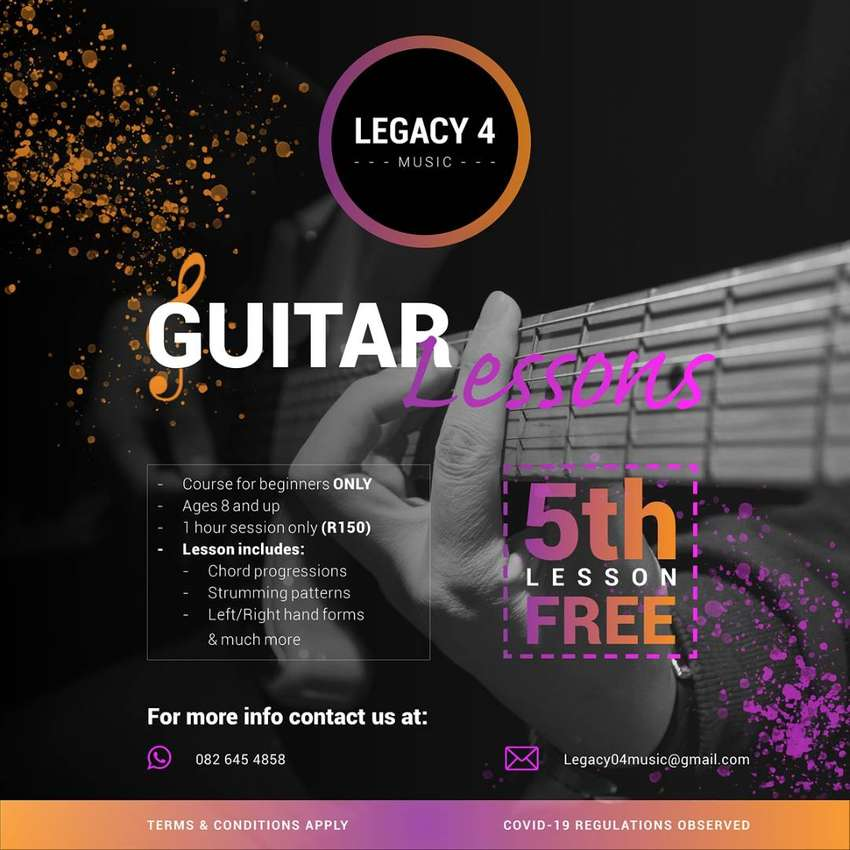One on one guitar lessons