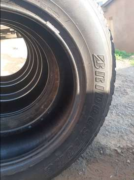 78% used tyres for big bakkies