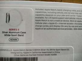 Brand New 40mm Apple Watch Series 5 with GPS and Cellular