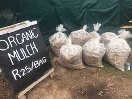 Mulch - 100% organic - garden bed booster - Get ready for spring