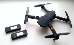 2 батареи! Квадрокоптер Eachine E58 с камерой, складной дрон