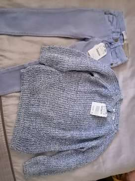 Brand New Zara and Guess 5 year old clothing