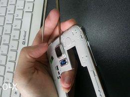 Szkło, szkiełko aparatu kamery Samsung s5 g900f Nowe z ramka, obudową