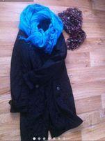 Пальто женское черное фирмы Остин,демисензон -L 48-50+подарок