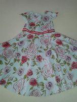 śliczna letnia sukienka dla dziewczynki