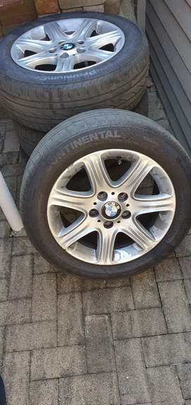 BMW TYRES AND RIMS